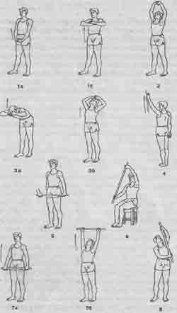 Упражнение для разрабатывания плечевых суставов пластырь для коленного сустава