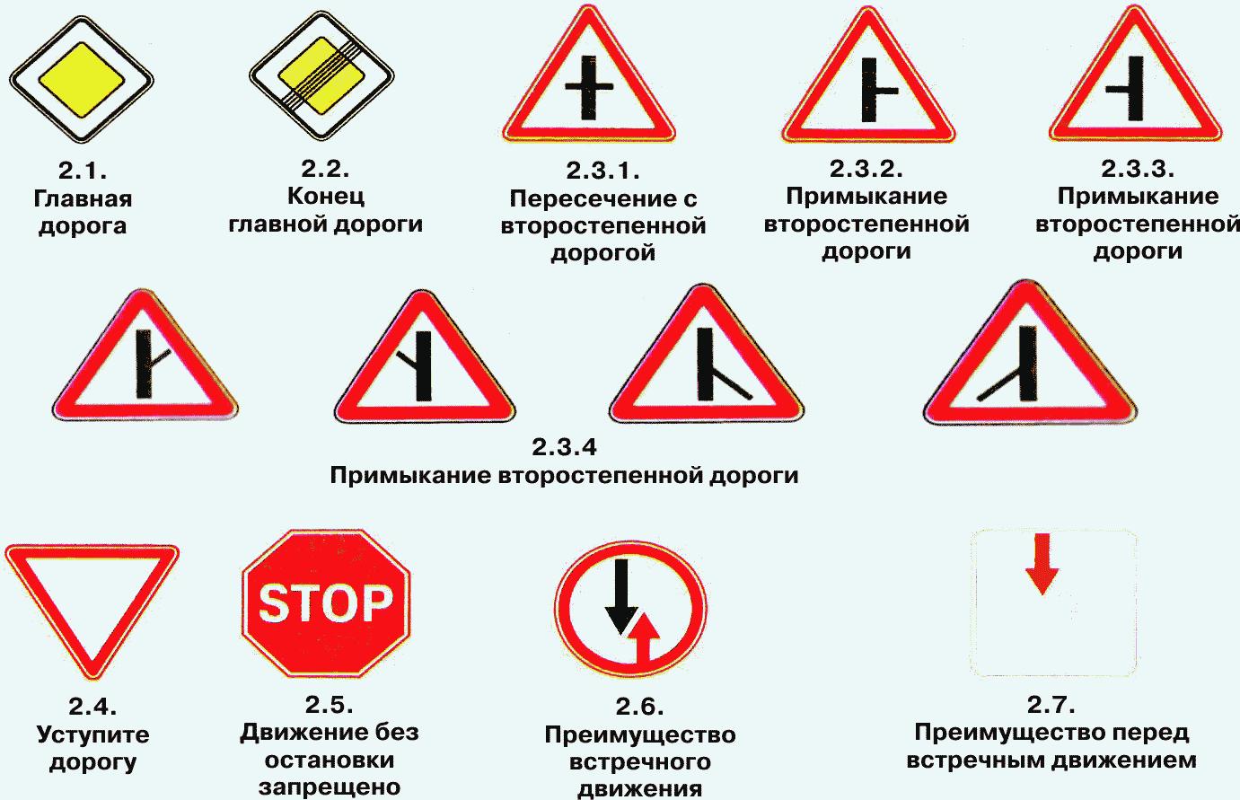 фото и наименование знаков приоритета бань Москвы