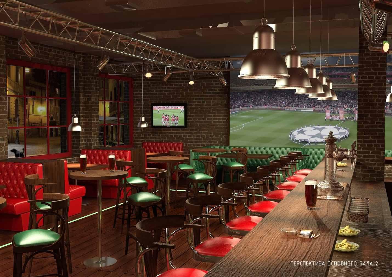 Дизайн спорт-баров с