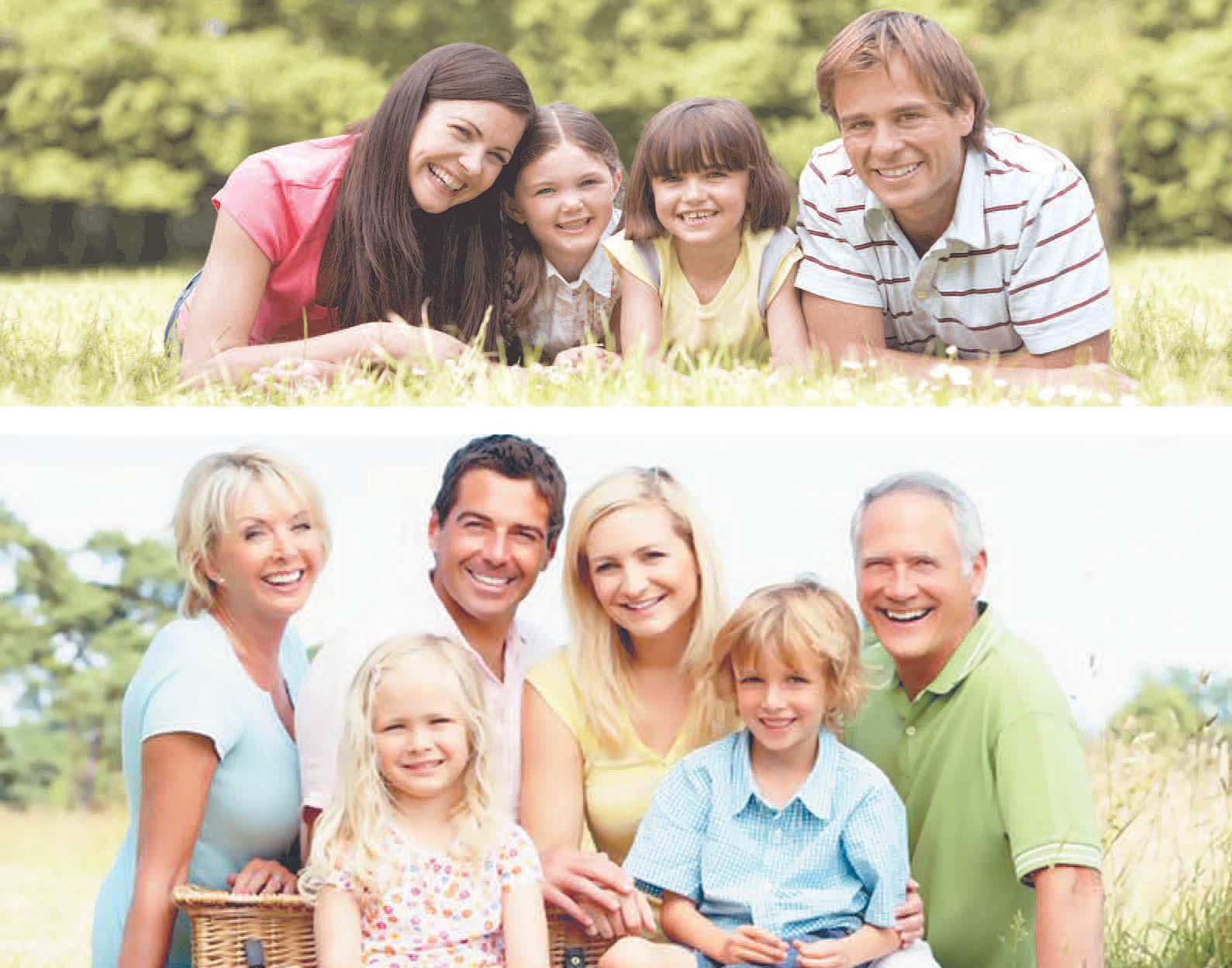 Фото дети семья и друзья