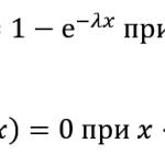 Теория вероятности — задачи